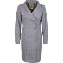 DreiMaster Dámský kabát s příměsí vlny 39036842_grau melange