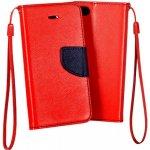 Pouzdro TELONE FANCY SAMSUNG I9060 Galaxy Grand Neo červené