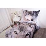 Faro bavlna povlečení Exclusive Vlk 140x200 70x90