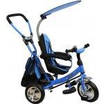 Baby Mix Dětská tříkolka s vodicí tyčí Safari Blue