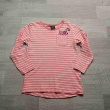 26cf39f9afea tričko dl.rukáv pruhované růžovobílé s kapsou a kočičkou