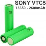 Sony baterie 18650 VTC5 2600 mAh 30A