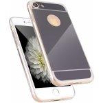 Pouzdro 3DO Apple iPhone 7 SILIKON MIRROR černé