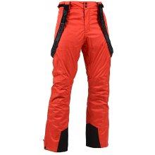 Alpine Pro pánské zimní kalhoty SANGO 3 červená