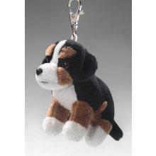 Přívěsek na klíče Plyšový bernský salašnický pes 10 cm plyšové hračky b0aee3d8bef