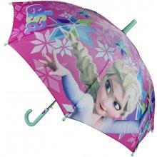 Disney Brand Dívčí deštník Frozen - růžový