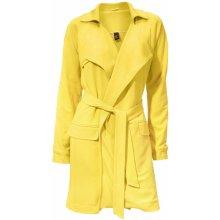 Heine BC dámský žerzejový kabát žlutý