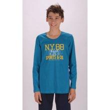 Dětské pyžamo dlouhé Patrik hnědá