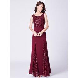 Ever-Pretty dámské luxusní plesové šaty 7401 bordó d87dcd9b8f