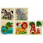 Hess baby puzzle dřevěné džungle