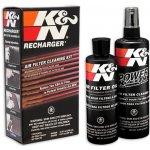K&N čistící sada na vzduchové filtry