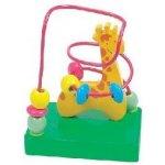 Bino 84160 Motorický labyrint malý s žirafou