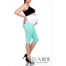 Lumide 3/4 těhotenské legíny mátové