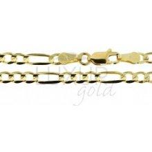 Náramek ze žlutého zlata LUXUR GOLD 3640124