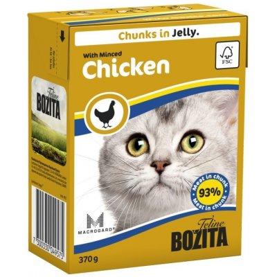 Bozita Cat kousky jelly s mletým kuřecím 370 g