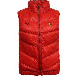 Pánská vesta Puma Ferrari Classic Gilet Red 9d8e9e2b1c0