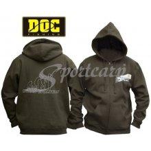 DOC Mikina Evolution s kapucí zelená