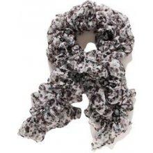 MaxiMo šátek vzorovaný 610500 černošedé 9dcecb51ac