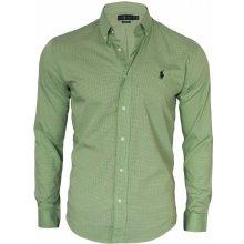 Ralph Lauren Pánská kostkovaná košile Zelená b09ccc5409