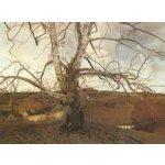 Obrazy - Wyeth, Andrew: Pennsylvania Landscape - reprodukce obrazu o rozměru 65 x 42 cm.