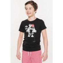 SAM 73 chlapecké triko KTSL128 990SM černá