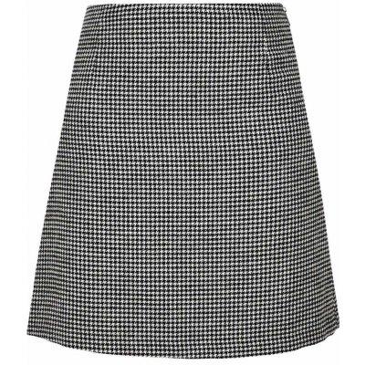 s.Oliver áčková sukně se vzorem černobílá