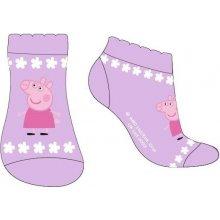 4a5426c10e1 E plus M Dívčí ponožky Peppa Pig fialové