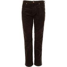 Wrangler pánské manžestrové kalhoty Arizona Stretch černé 0f35e83998