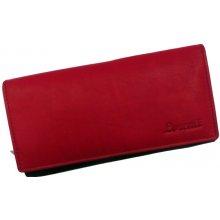 Cavaldi Dámská kožená peněženka 4U červená GD20-2