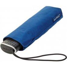 Plochý skládací deštník Malibu modrý