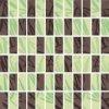 Mozaika Bambus brown/zefir 33,3x33,3 cm I.j.