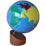 Montessori G005 glóbus barevné kontinenty