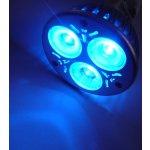 T-Led Barevná LED žárovka E27 3W 230V 60° 50000h Modrá