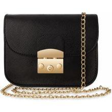 229 Kč World-Style.cz. elegantní klasická listonoška pevná kabelka dámská  chanelka na řetízku černá ab3c5433ee6