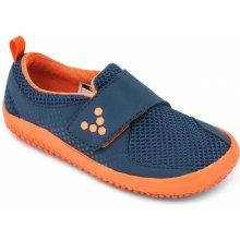 Vivobarefoot PRIMUS MINI K Mesh Navy Orange 3fe88fd8c1