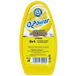 Q Power osvěžovač vzduchu vanička citron 150 g