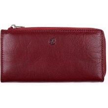 Cosset Velká kožená peněženka na zip 4513 Komodo tmavě červená 601b84ad6a