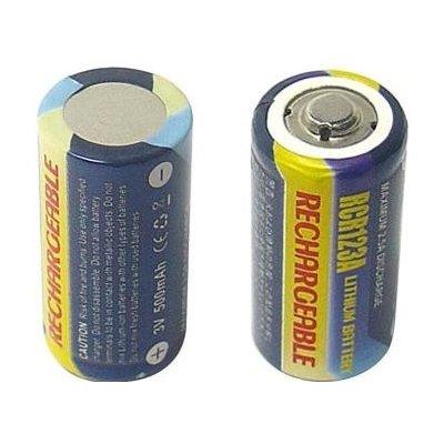 Avacom CR-123 500 mAh baterie - neoriginální