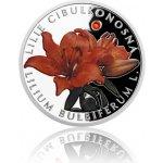 Česká mincovna Stříbrná mince Ohrožená příroda Lilie cibulkonosná proof 16 g