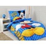 Jerry Fabrics Povlečení Mickey blue 2016 140x200 70x90