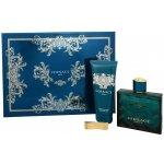 Versace Eros EdT 100 ml + sprchový gel 100 ml + spona na bankovky dárková sada