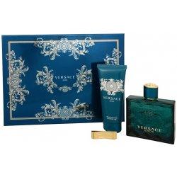 Versace Eros EDT 100 ml + sprchový gel 100 ml + spona na bankovky dárková  sada od 1 509 Kč - Heureka.cz 1ac50813d6