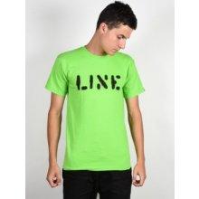 Line Stencil Neon Yellow