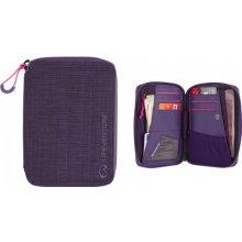 Lifeventure RFid Protected Mini Travel Wallet cestovní peněženka Purple