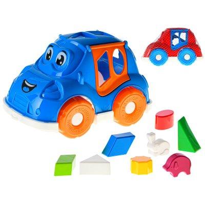 Mikro Trading auto/vkládačka 2v1 geometrické tvary a zvířátka