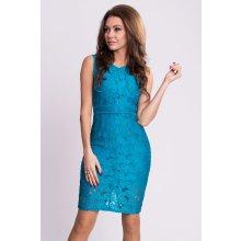 Emamoda dámské krajkové šaty modrá 4170adaac7