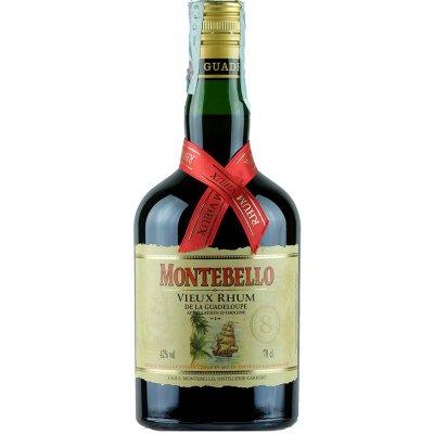 Montebello Vieux Agricole 8 Ans d'Age 0,7 l 42 %