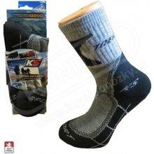 Trekové thermo ponožky KS 11781 antracit