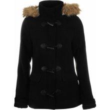 Kangol Duffle Jacket Ladies Black