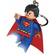 Přívěsek na klíče LEGO LED DC Super Heroes Superman svítící figurka